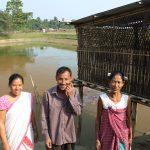 Fishery cum duckery intervention in Mising Autonomouc Council, Assam