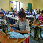 Unemployed youths are being trained in specialized garment stitching in Manipur